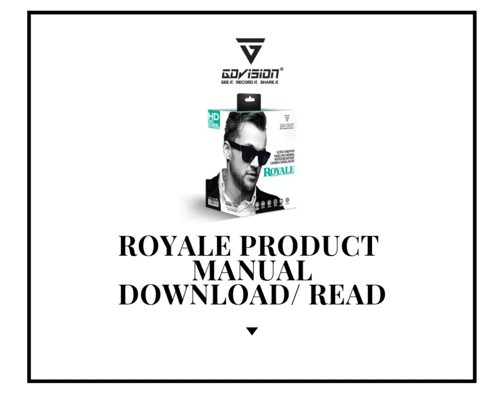 Royale Product Manual PDF