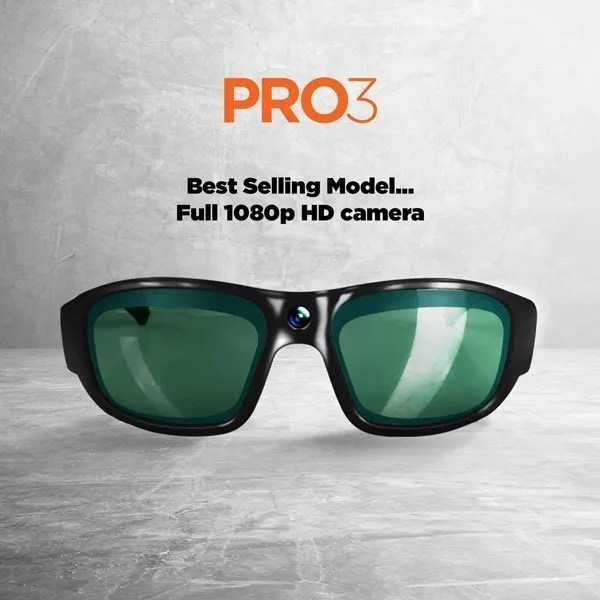 pro3 - camera sunglasses