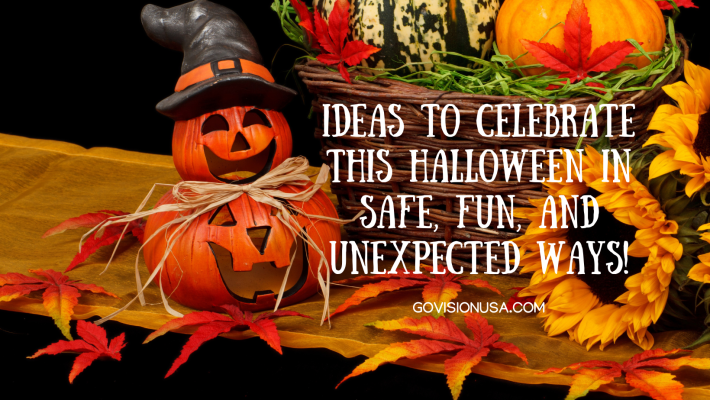 Ideas to celebrate this Halloween in safe, fun, and unexpected ways!