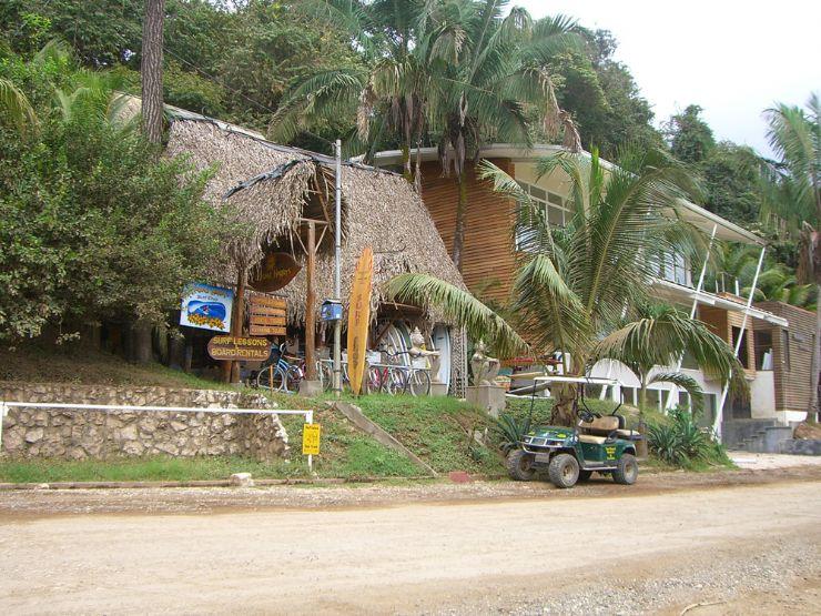 In Town at Playa Nosara