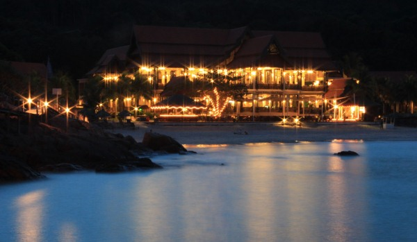 Laguna Redang Island Resort at night