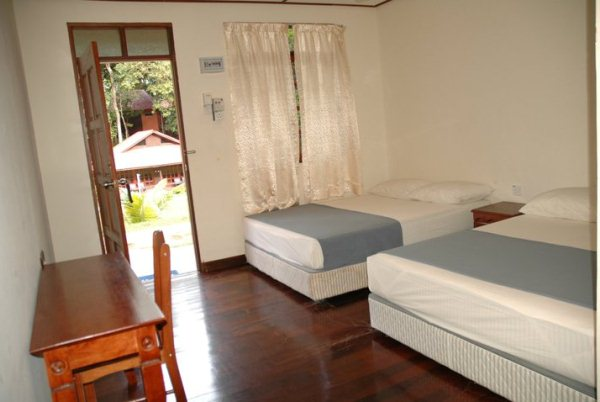 Redang Holiday Beach Villa Standard Room Interior