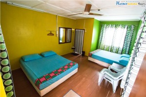 Sun Beach Resort Budget Quad Room