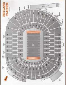 also neyland stadium seating chart rh govolsgo