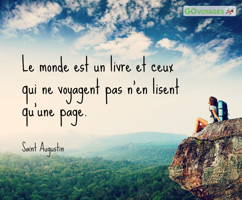citation saint augustin voyage