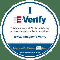 govqa careers dhs.gov iEverify logo and certification
