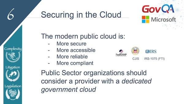 GovQA Slay The Public Records Dragon Presentation Slides Secure in Cloud