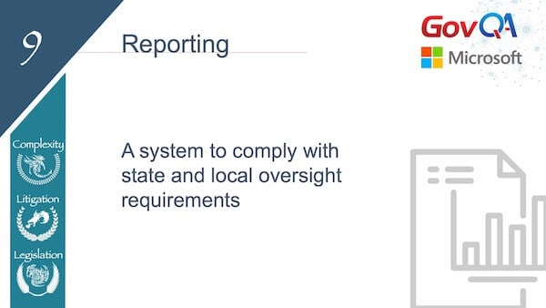 GovQA Slay The Public Records Dragon Presentation Slides Reporting