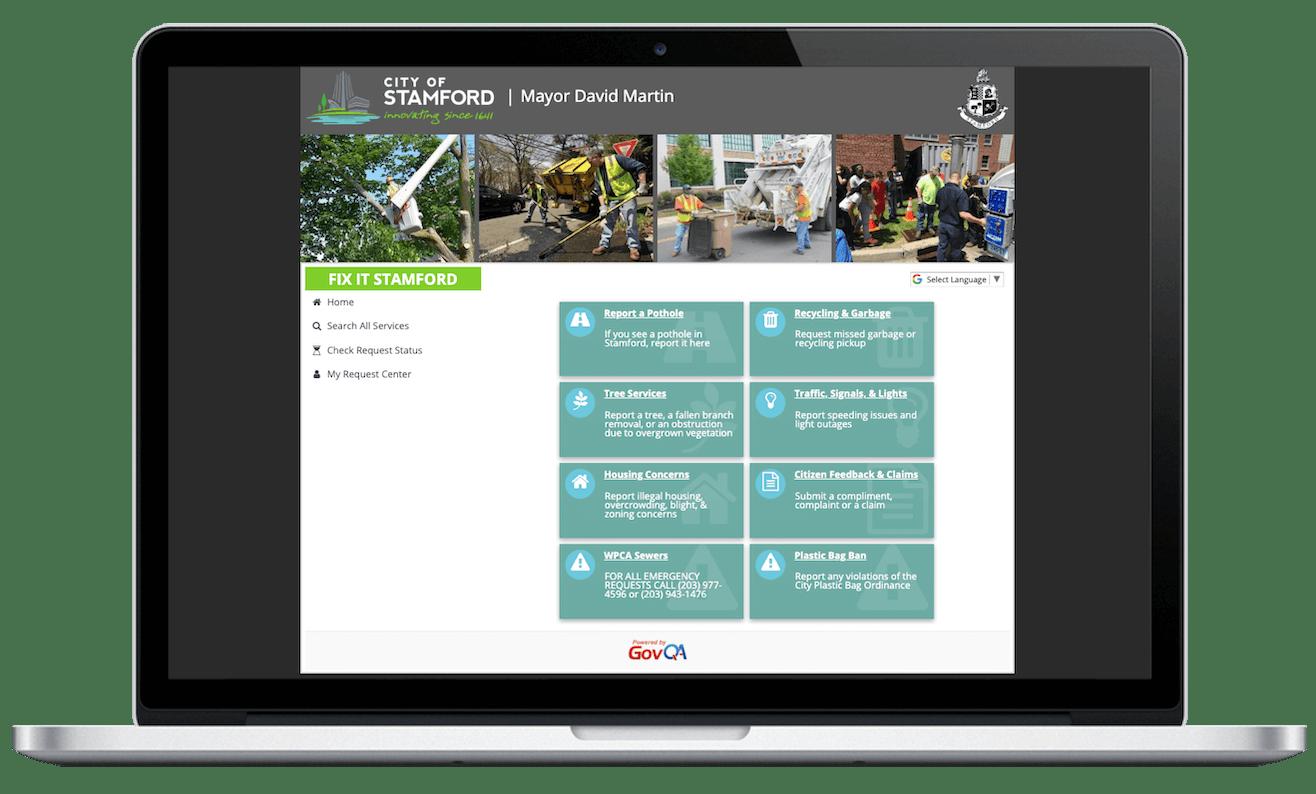 govqa citizen request management automatic citizen updates portal macbook pro