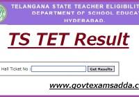 Telangana TET Result 2019