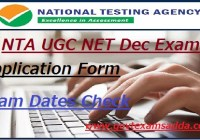 NTA UGC NET Application Form 2019
