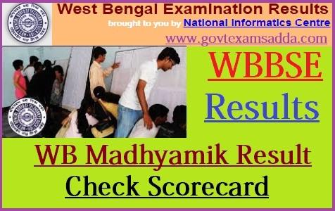 WB Madhyamik Result 2019