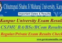 Kanpur University Result 2021