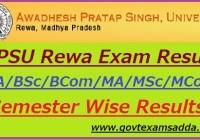 APSU Rewa Result 2019
