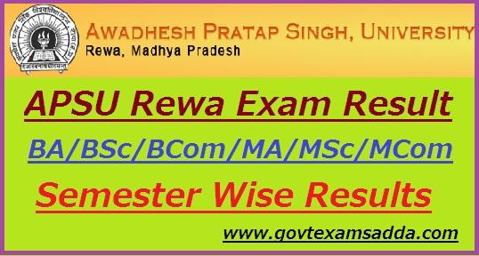 APSU Rewa Result 2021