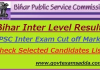 Bihar Inter Level Result 2018-19