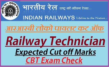 RRB ALP Expected Cut off Marks 2019