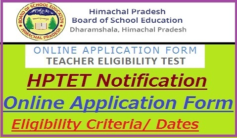 HPTET Notification 2019-20