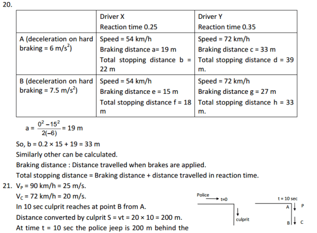 HC Verma : Concept Of Physics Chapter 3 : Rest and Motion Kinematics Solution PDF 8