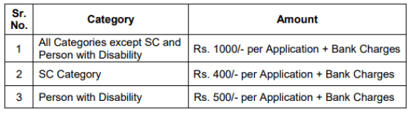 ldc application fees
