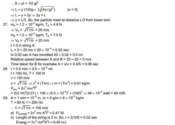 chapter solution 11