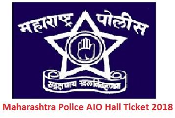 Maharashtra Police AIO Hall Ticket 2018