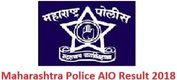Maharashtra Police AIO Result 2018