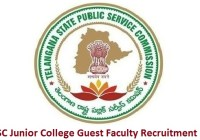 TS Junior College Guest Faculty Recruitment