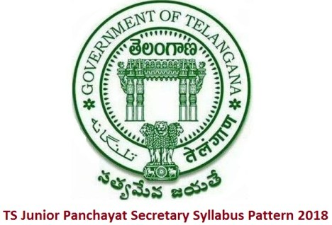 TS Junior Panchayat Secretary Syllabus Pattern 2018