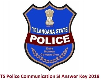 TS Police Communication SI Answer Key 2018