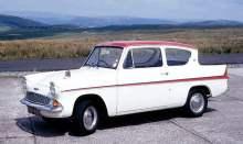 Ford Anglia classic car