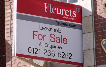 Leasehold sign