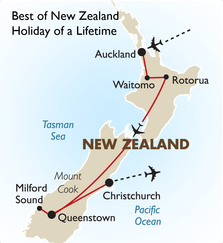 Holiday Of A Lifetime New Zealand Vacations Goway Travel