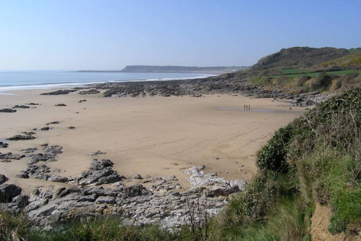 The Sands at Slade and Horton, Gower