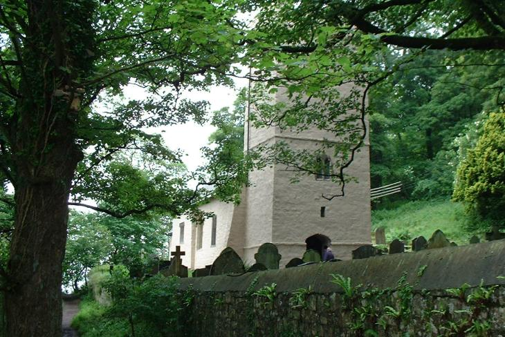 St Illtyd's Church, Oxwich, The Gower Peninsula, Swansea