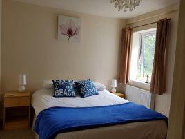 The bedroom, Sea Breeze Apartment 1, Horton, Gower