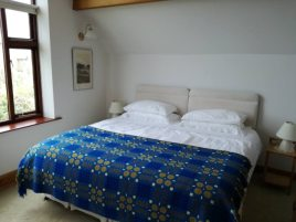 Bedroom at The Bower, Rhossili, Gower Peninsula