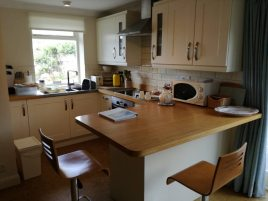 Kitchen at The Bower, Rhossili, Gower Peninsula