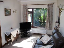 Living room at Green Meadows, Three Crosses, Gower Peninsula