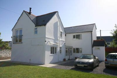 Oxwich View self-catering holiday cottage, Port Eynon, Gower Peninsula