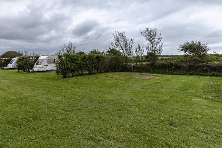 Pilton Moor Touring Caravan Site at Pilton Moor, Rhossili, Gower