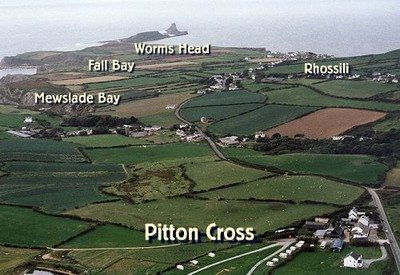 Pitton Cross Camping and Caravan Park, Rhossili, Gower