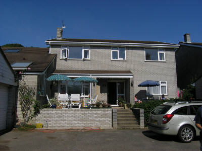 Puffin House self-catering accommodation, Horton, Gower Peninsula