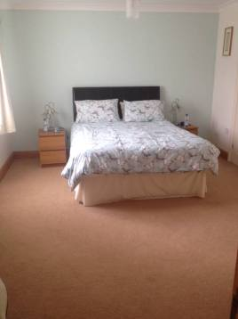 Double bedroom at Hills Court, Reynoldston, Gower near Swansea