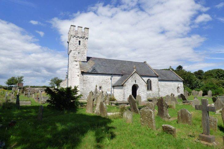 St Mary's Church, Pennard, The Gower Peninsula, Swansea