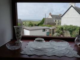 The view from The Bower holiday cottage, Rhossili, Gower