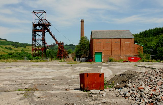 Cefn Coed Colliery Museum in Neath, South Wales