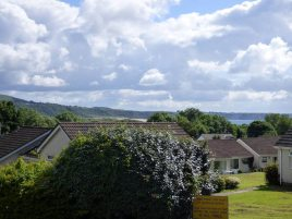 The view from Bayholme Holidays, Oxwich
