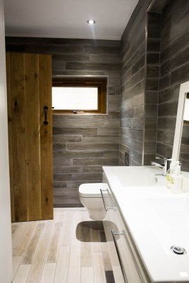 Ground floor bathroom at The Bower Cottage self-catering cottage, Port Eynon, Gower