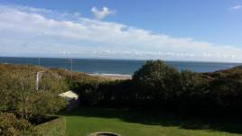 The beautiful sea view from Hollies self-catering cottage, Horton, Gower